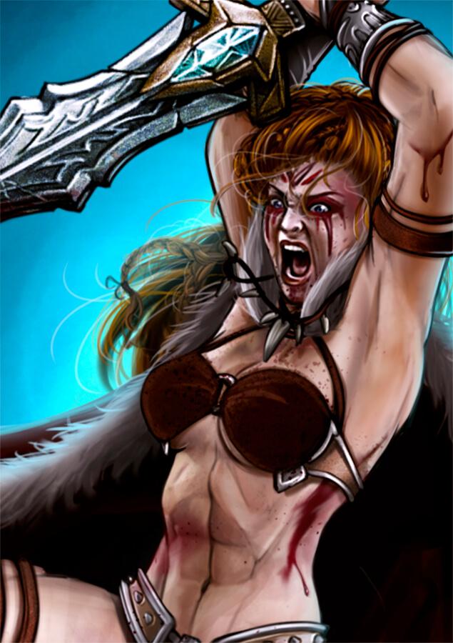Thaal, Dragon Fury ilustración detalle