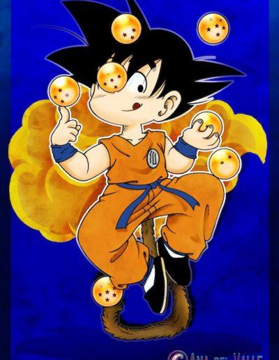 Ilustración para especial Generación Dragon Ball (Editorial Dolmen)
