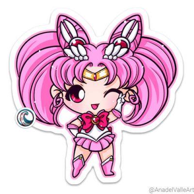 Pegatina My little Sailor Chibi Moon