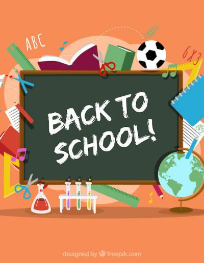 Blackboard Back to School Background 21