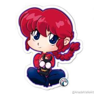 Ranma Pegatina sticker