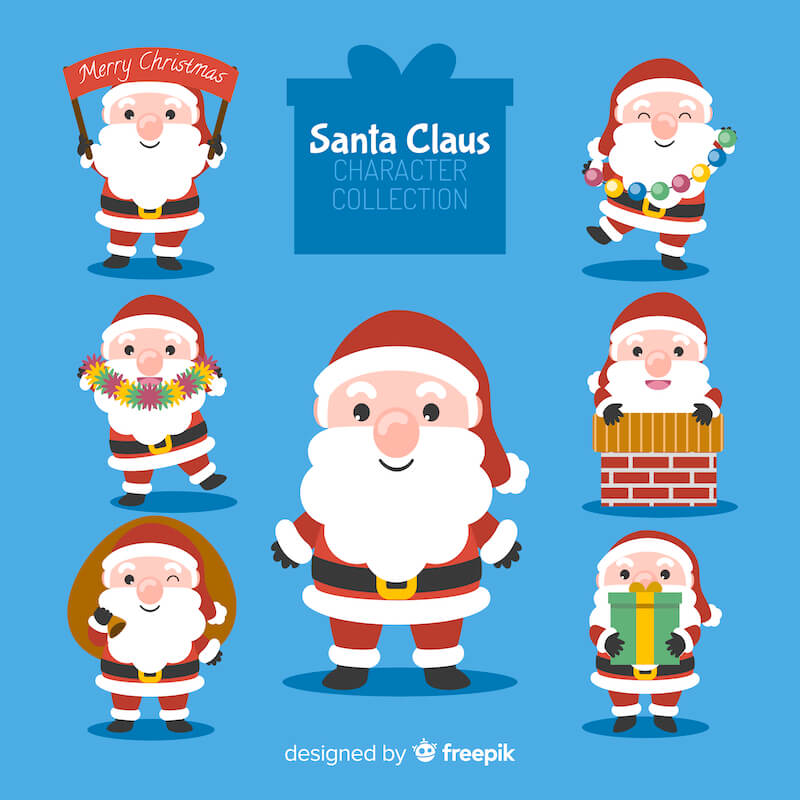 Santa Claus Character Collection 1