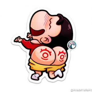 Shinchan Pegatina sticker