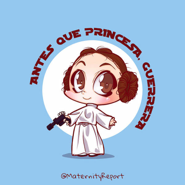 baby cosplay base1 Leia Star Wars blue