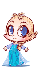 baby cosplay base1 Elsa Frozen