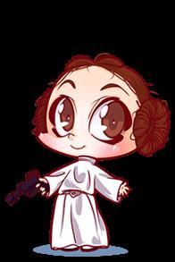 baby cosplay base1 Leia Star Wars