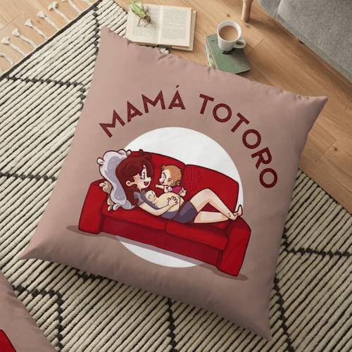 almohada totoro
